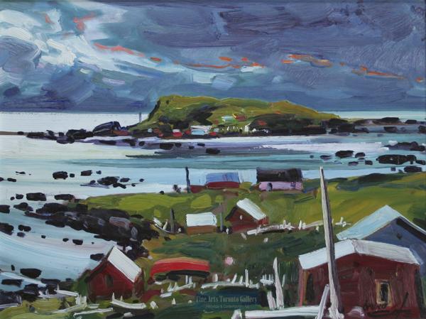 """Bruno Cote - """"Terre Neuve"""" - Newfoundland (1991)"""