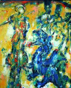Camelia de Montety - Saint Georges terrassant le dragon (2007)