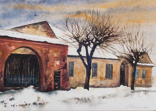 Eugen Mircea - Winter Street (2004)